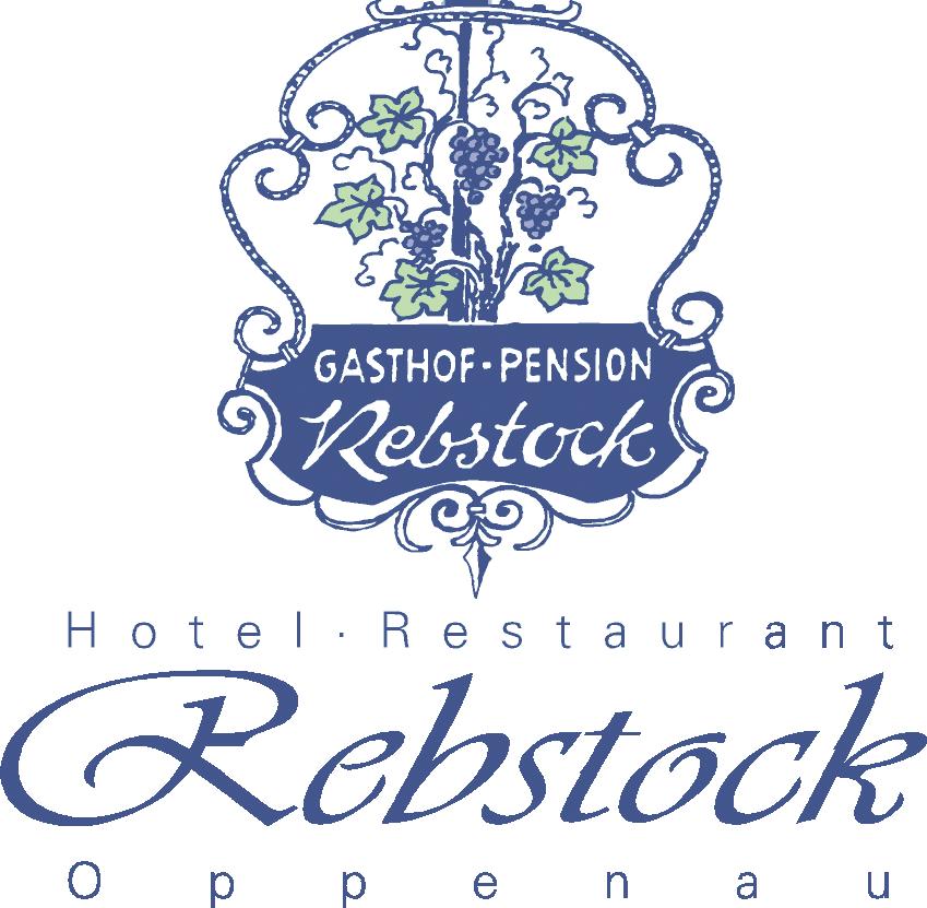 Rebstock Logo blau